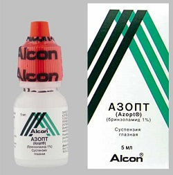 Azopt Eye drops